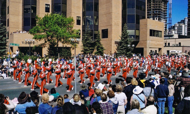 Watching My Daughter March In The Parade My Stampede